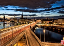 Photography tour Stockholm by night