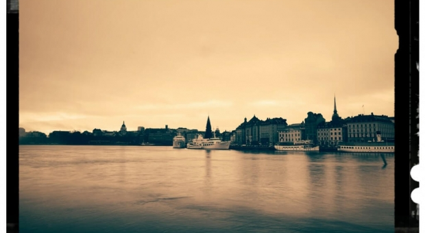 Mystical mist covers Stockholm