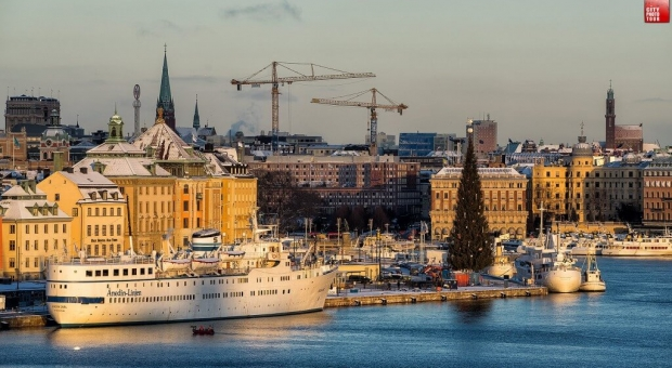 Magic morning in Stockholm