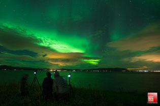 Chase for the northern lights phototgraphy tours Kiruna  - Sweden